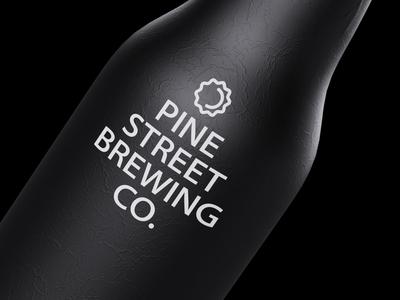 🍺Pine Street Brewing Co. Logo Concept