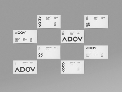 ADOV Business Cards