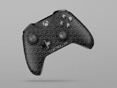 Xbox One Controller with LEVSHA pattern