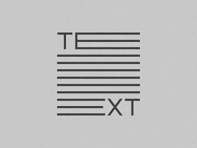 TEXT paragraph logo e text