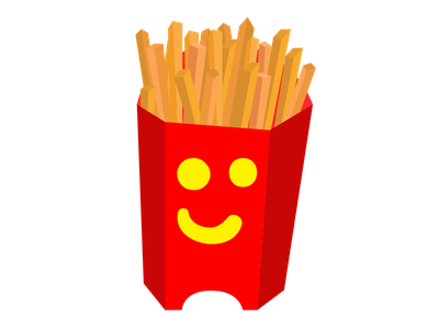 Crazy Fries fast food fry french fries mcdonalds fries
