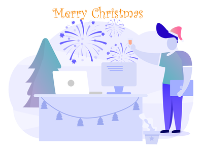 Merry Christmas ! 🎅 vector artwork vector art illustration merrychristmas christmas character