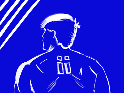 Blue illustration dailyui dribbble