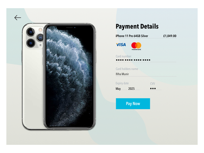 iPhone 11 Pro Product Card design shop shopping ecommerce sketch technology userinterfaces userinterface uidesign ui productcard iphone11