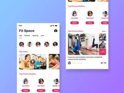 Fit Space App
