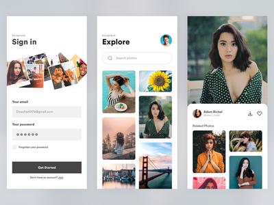 Unsplash App Redesign