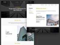Construction Company Homepage