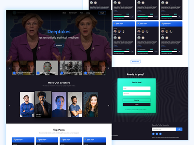 Video platform homepage exploration