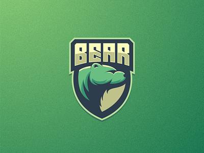 Bear artchiles-design motion graphics graphic design 3d animation ui illustration vector simple brand branding artwork logodesign design bear logo