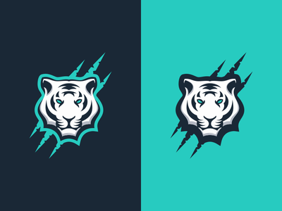 Tiger motion graphics graphic design 3d animation artwork branding brand logodesign ui illustration design simple vector caracter animal tiger logo