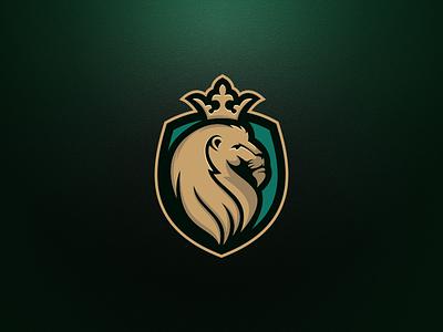 LION KING artchiles-design motion graphics graphic design 3d animation ui illustration design vector simple logodesign brand branding artwork shield lionking king lion logo