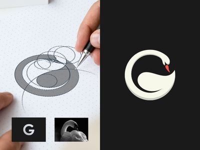 G - Goose artchiles-design motion graphics graphic design 3d animation ui illustration design vector simple logodesign brand branding artwork goose logo