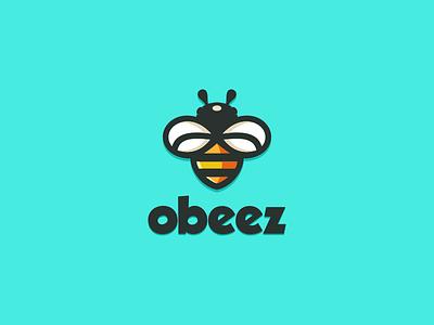 Bee artchiles-design animal motion graphics graphic design 3d animation ui illustration design vector simple logodesign brand branding artwork bee logo