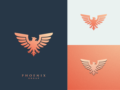 Phoenix logos motion graphics graphic design 3d animation ui illustration design vector simple logodesign brand branding artwork phoenix logo