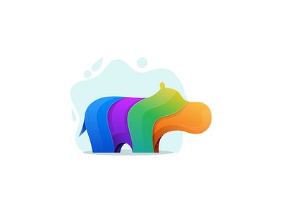 Hippo artchiles-design colorfull motion graphics graphic design 3d animation ui illustration design vector simple logodesign brand branding artwork hippo logo