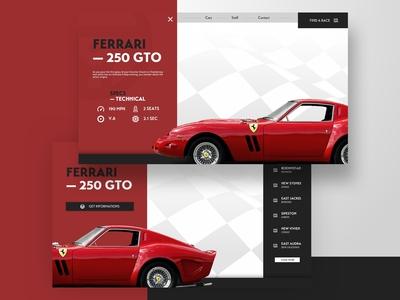 Ferrari - UI Design Experiment