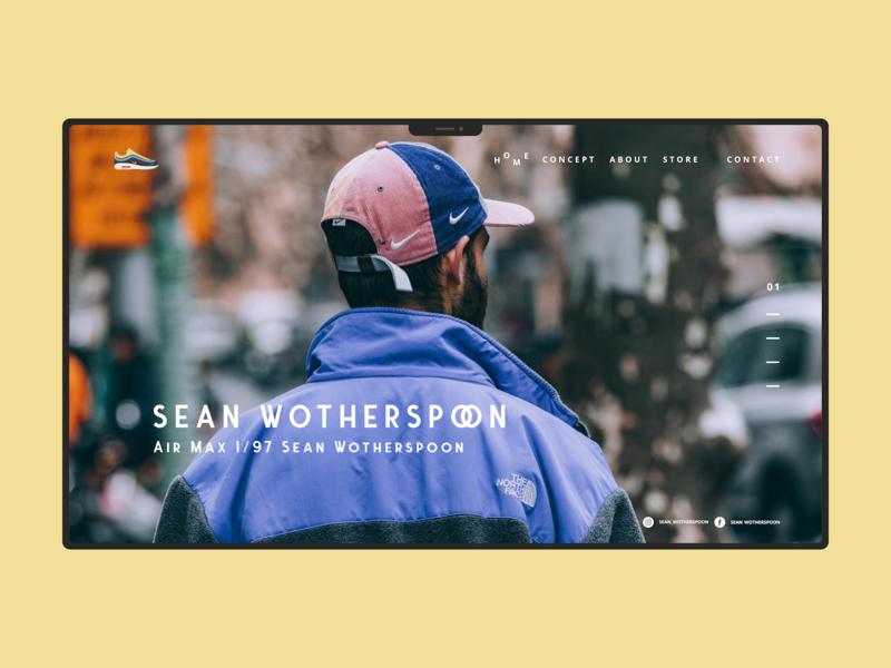 Sean Wotherspoon website flat logo web vector design ui minimal branding