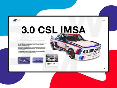 BMW CSL IMSA