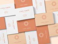 Cyril Simon | Brand identity [2/3]
