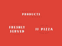 JJ Pizza | Visual identity systems