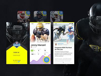 NFL Draft App sap nfl application football