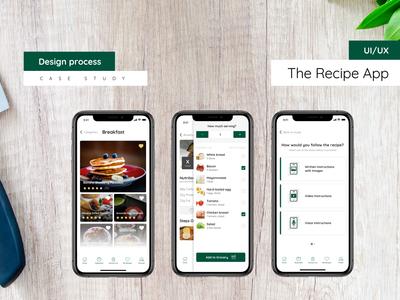 Recipe app - case study