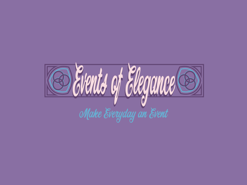 Events of Elegance logo pattern celtic candy events logo