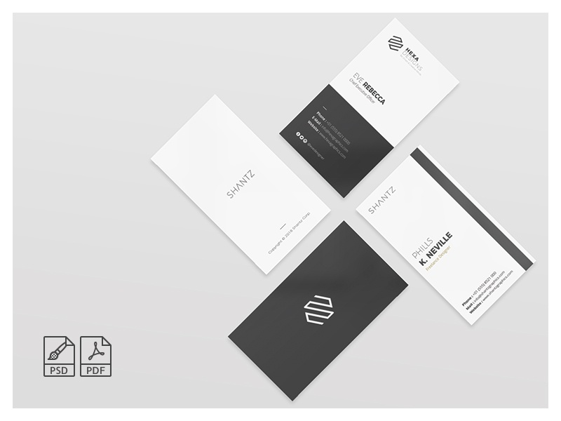 minimalist business card by one graphics dribbble - Minimalist Business Card
