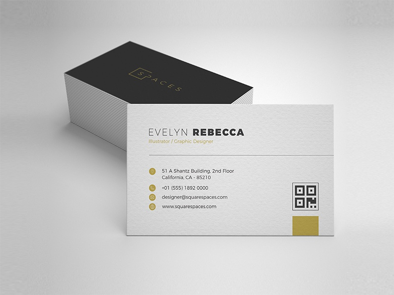 Minimalist Business Card Vol 03 By One Design Dribbble Dribbble