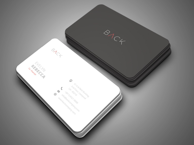 Minimalist Business Card Vol. 04 by One Graphic\'s ™ - Dribbble