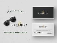 Minimalist Business Card Vol. 10