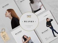 BLANKS | Minimal Lookbook/Magazines