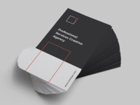 Minimalist Business Card Vol. 25