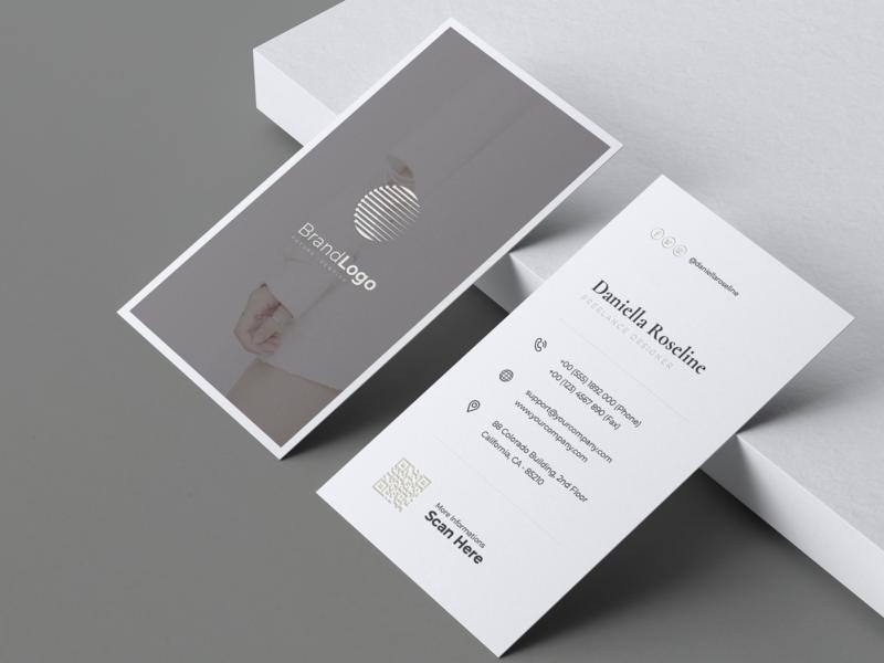 Minimalist Business Card Vol. 28 card unique design luxury print template fashion professional modern minimal business card elegant print template clean simple minimalist