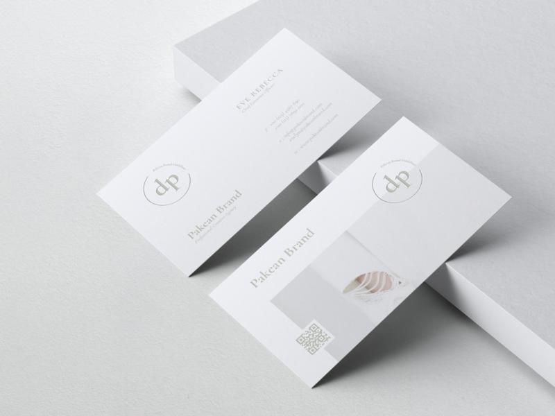 Minimalist Business Card Vol. 18 brand fashion unique card feminine simply design luxury print template professional modern business card minimal elegant print template clean simple minimalist