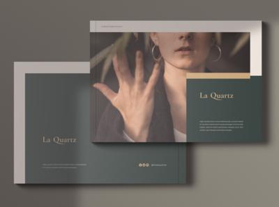 LaQuartz Lookbook Portfolio Brochures