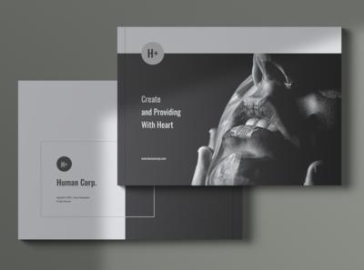 HUMAN Company Profile Brochures