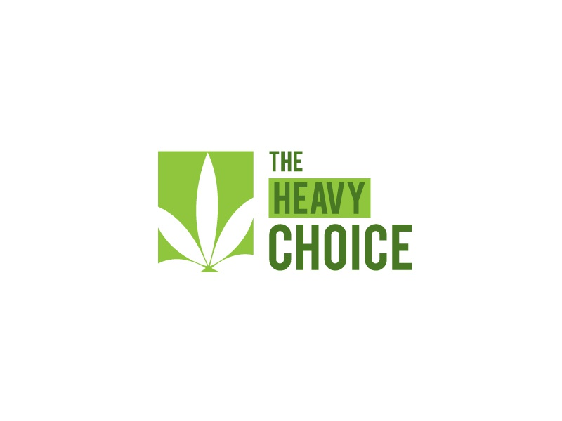 The Heavy Choice peace marijuana best presentation new look logo ths