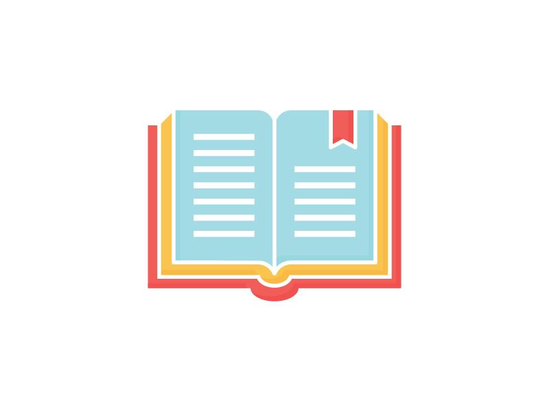 Book Icon by Sanja Veljanoska on Dribbble