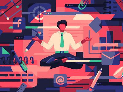 Better workday (crop) priya mistry tech tedx ted working work freelance editorial artist art illustrator illustration