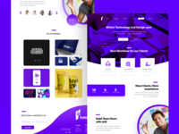 Fusions Landing Page
