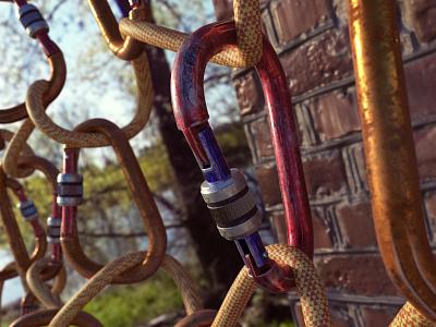 Lock Render Test dailyrender blender render 3d