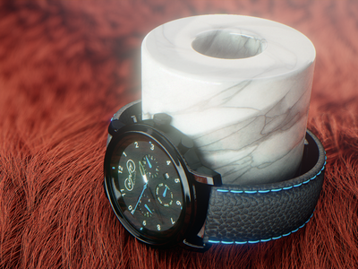 NFNTY product shot motion graphics composite blender cycles4d cinema4d render product shot product render watch