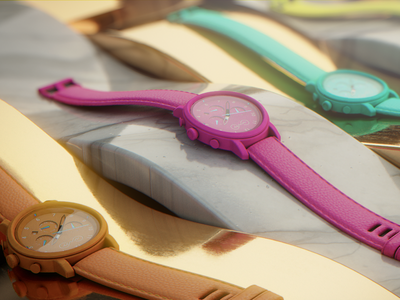 NFNTY moodboard shot composite blender cycles4d motion graphics product shot render moodboard animation cinema4d watches