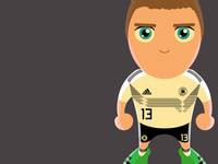 Germany World Cup Star