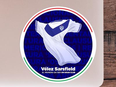 Velez Sarsfield football sticker