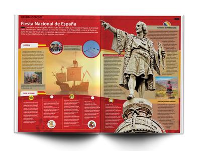 Educational Infographic - Spanish National Holiday