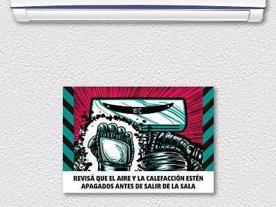 Pre-Apocalyptic Signage - AC digital digital art signage design graphic design illustration