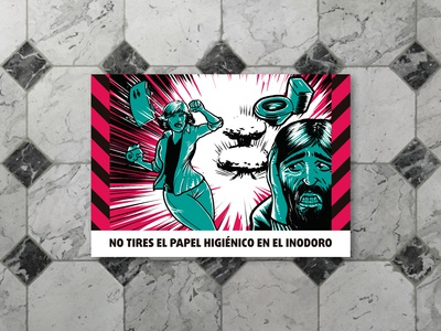 Pre-Apocalyptic Signage - Toilet paper