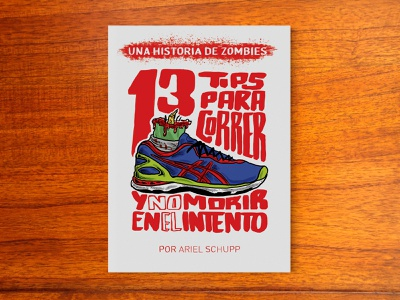13 tips - Comic book cover design digital art graphic design illustration zombies running lettering magazine illustration print editorial magazine cover comic book cover comic book art fanzine